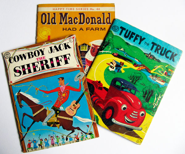 vintage childrens' books