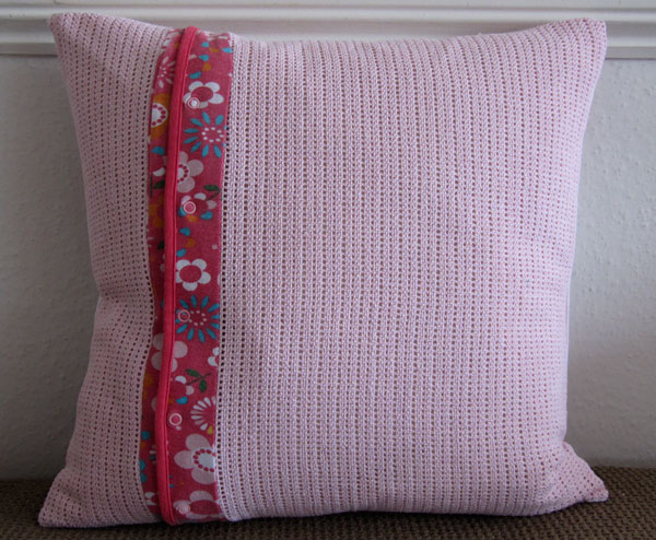 patchwork cushion back