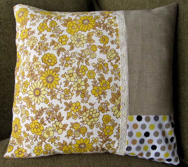 Hand made cushion