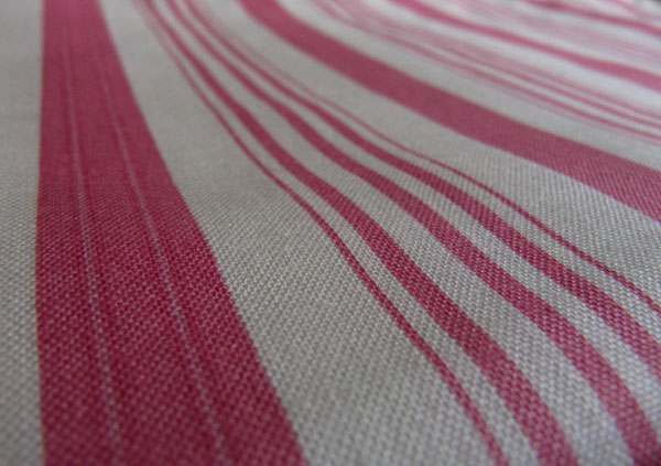 Tanya Whelan ticking stripe fabric