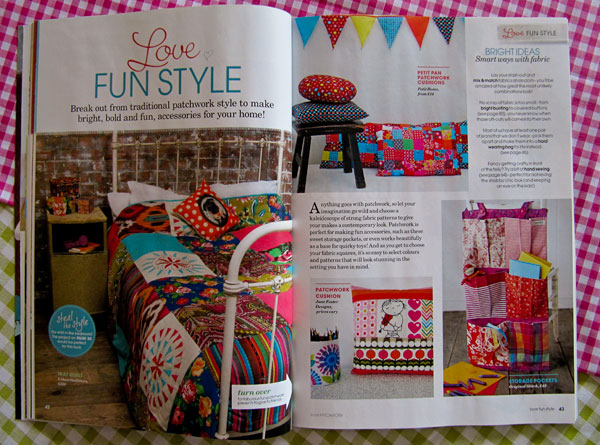 Love Patchwork magazine article