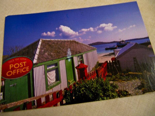 postcard from Iona
