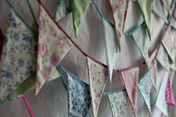 bunting photo shoot