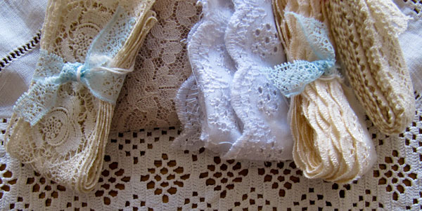 lace and broderie anglais