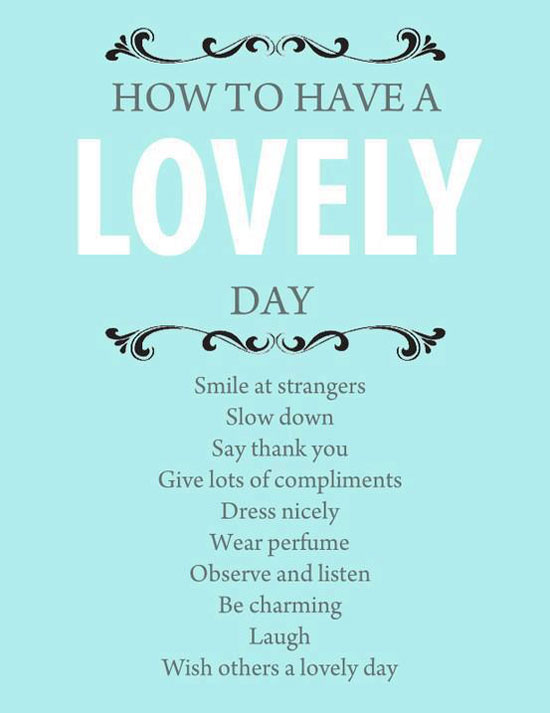 Lovely Day Poster