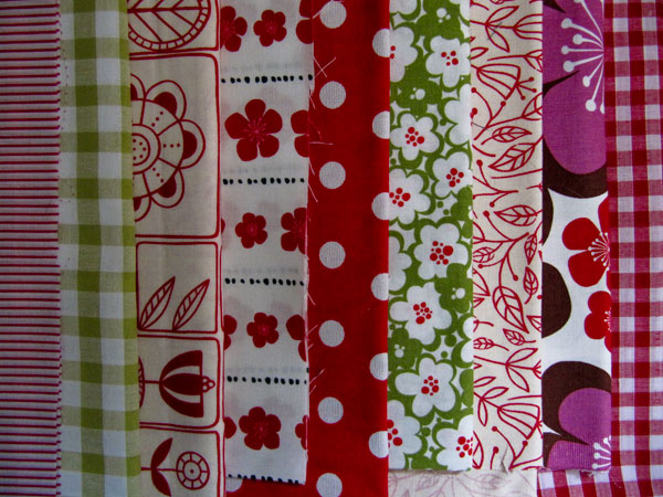 Fabrics for christmas decorations