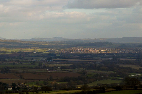 Looking from View Edge ~ light on Ludlow