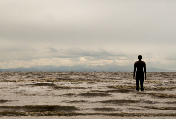 Antony Gormley - Another Place at Crosby