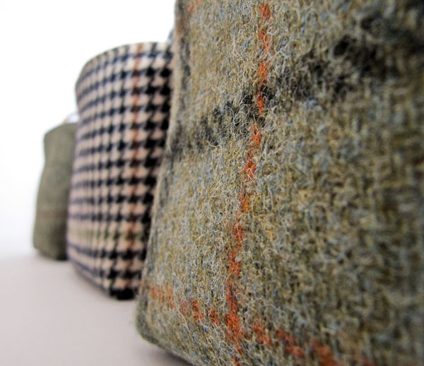 fabric detail - wools and tweeds