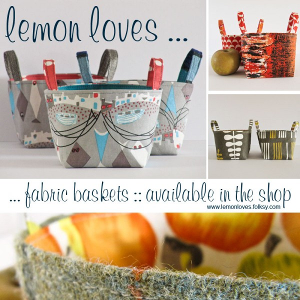 Fabric Baskets