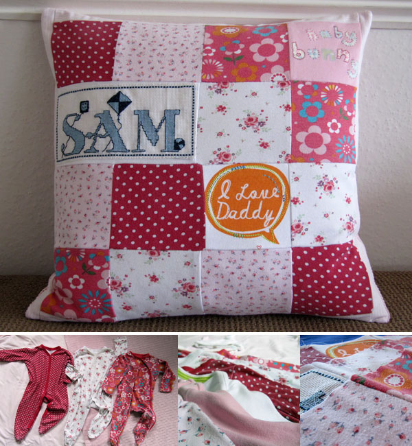 Baby Keepsake Cushion